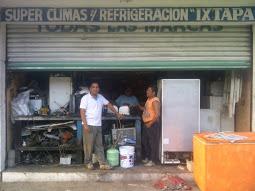 """SUPER CLIMAS Y REFRIGERACIÓN """"IXTAPA"""""""
