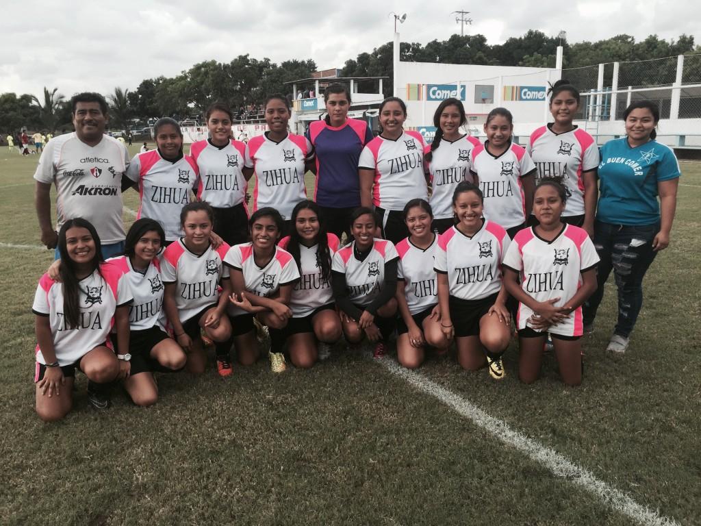 club atlas  femenil zihuatanejo