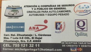"""CRISTA FÁCIL""  CRISTAL AUTOMOTRÍZ"