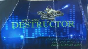 """LUZ Y SONIDO """"DESTRUCTOR"""""""
