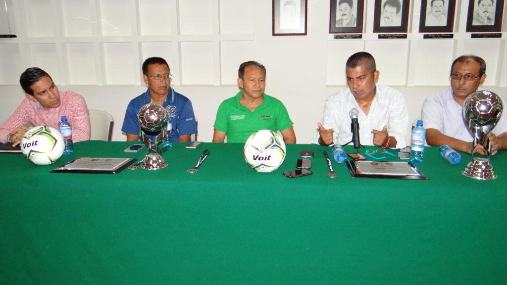 Inicia este martes Torneo Nacional de Futbol