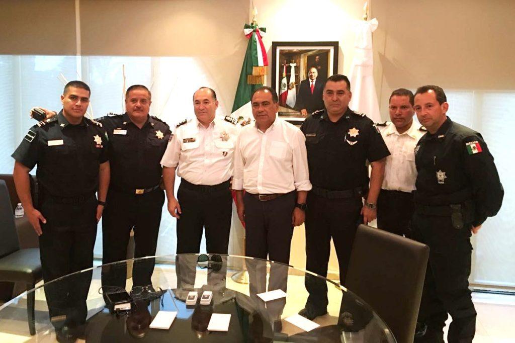 El regreso de la policía Federal a Guerrero tema en reunión del gobernador Astudillo