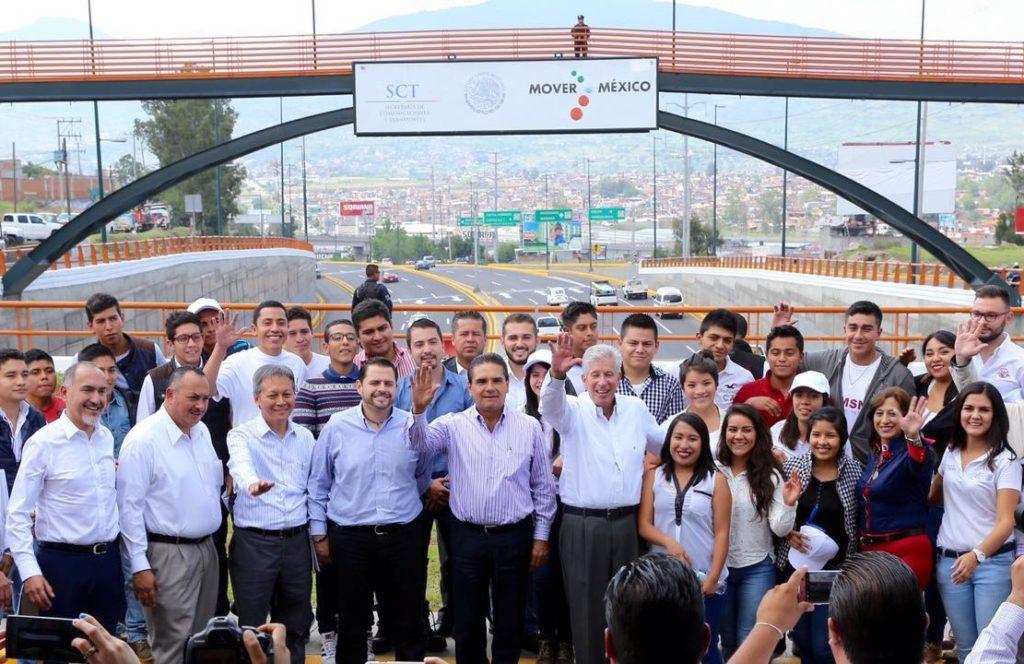 Inaugura Gobernador mejoramiento de libramiento tramo salida a Salamanca – salida a Quiroga