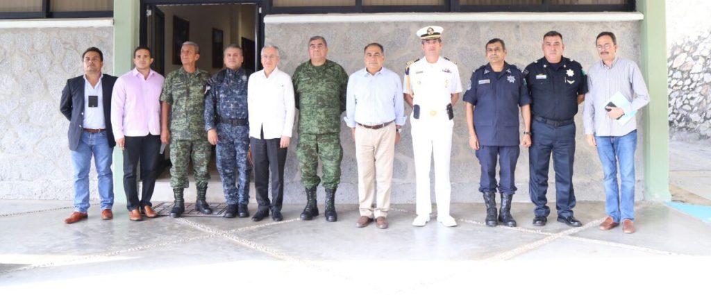 Gobernador Hector Astudillo encabezó sesión ordinaria del grupo coordinación Guerrero