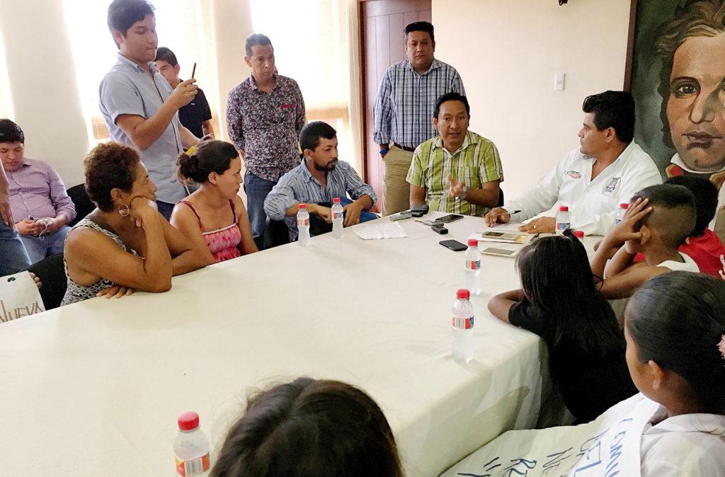 Disposición del alcalde GGB para apoyar a primaria de El Basurero