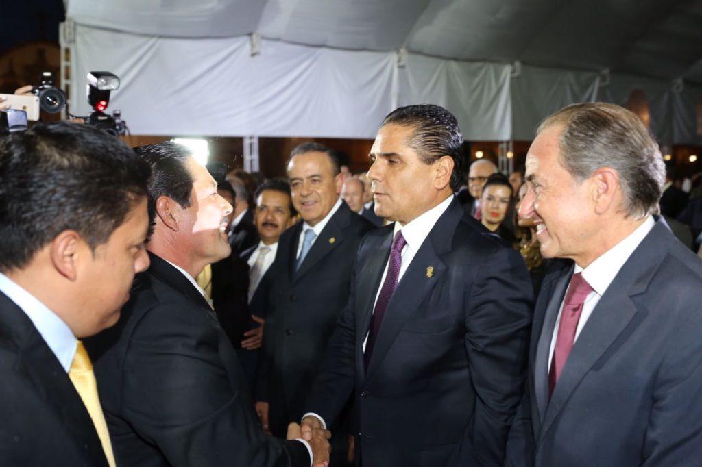 Acude Gobernador a primer informe del Presidente Municipal de San Luis Potosí