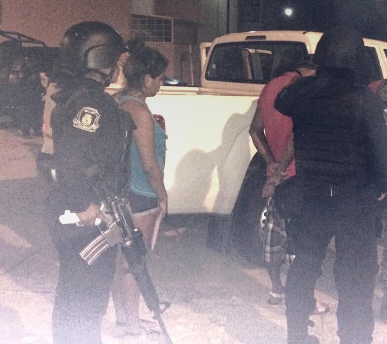 siete detenidos en cateo del ejercito en departamentos de Morrocoy Ixtapa