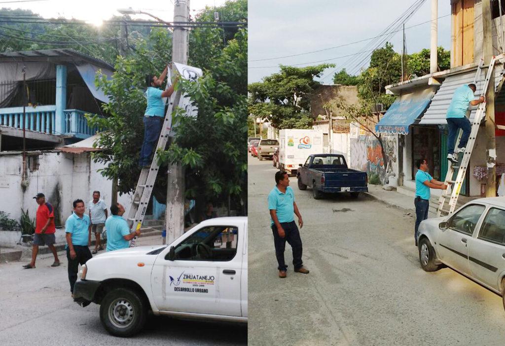 Gobierno municipal mejora imagen urbana en zona Centro y colonias