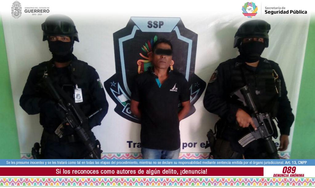 Policías estatales frustran secuestro y capturan a un plagiario