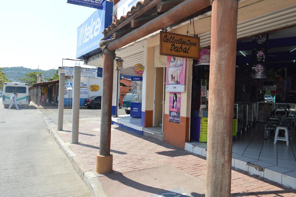 Obras Públicas repara tejaban del centro de la ciudad