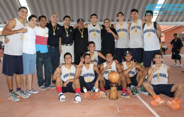 Guerrero Campeón en la Sub 21, venció a Michoacán en la final de basquetbol