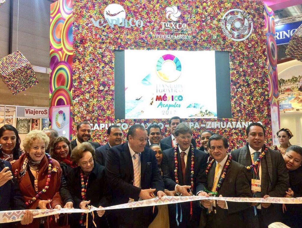 El pabellón de Guerrero cautiva a visitantes de diversos países en la FITUR