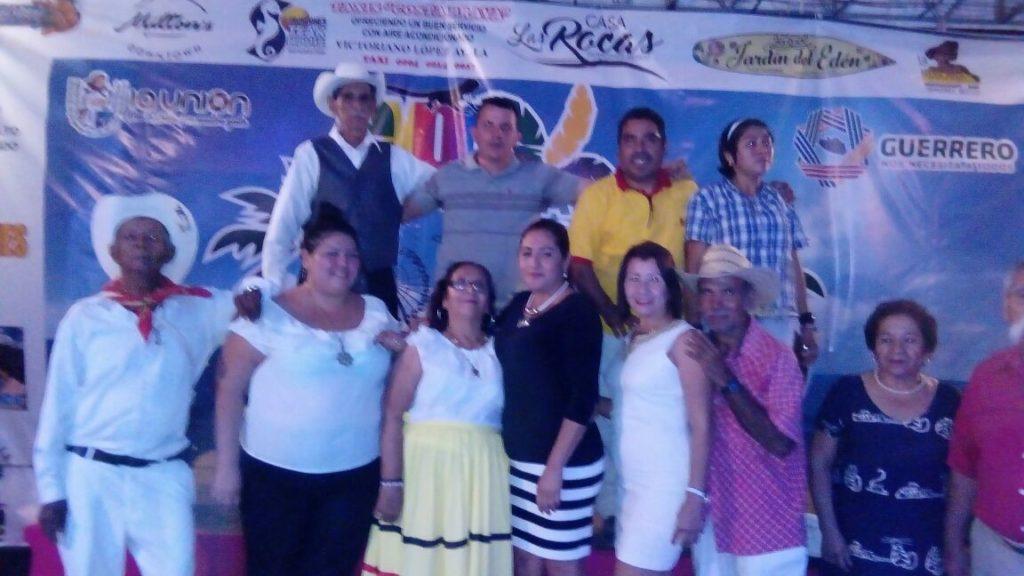 Gran éxito el concurso de baile de adultos mayores en el marco de la celebración de la Expo Feria Troncones 2017 en la Unión Gro.