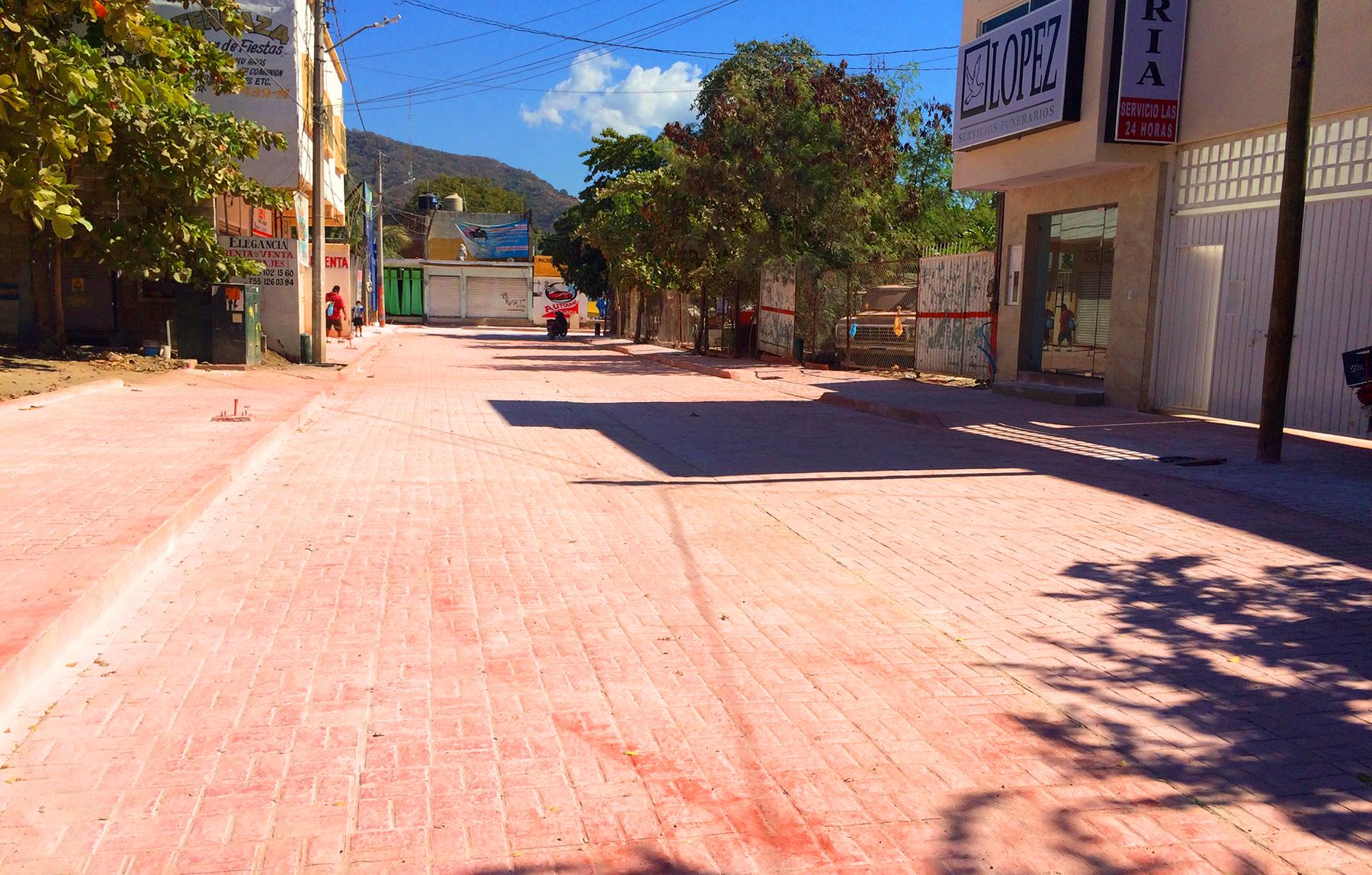 Circuito Vial : Por inaugurarse pavimentación de circuito vial zona