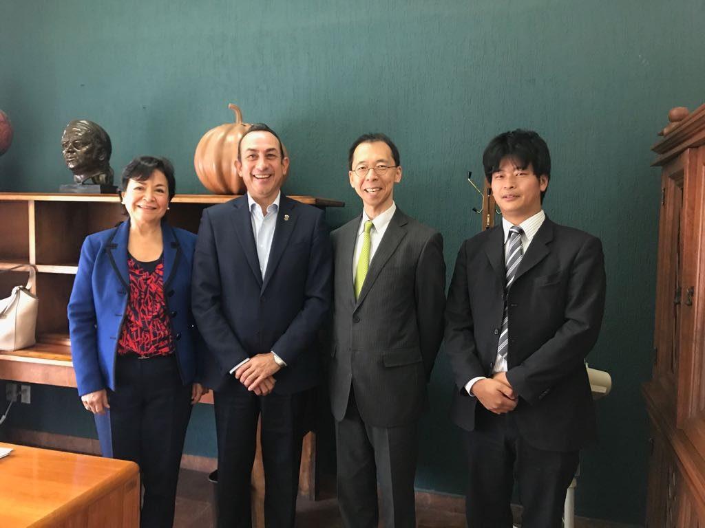 Interesa a Japón conocer oportunidades de inversión en Michoacán