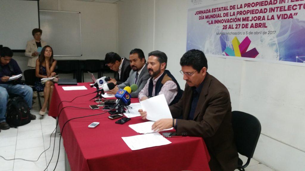 Impulsa Michoacán generación de patentes
