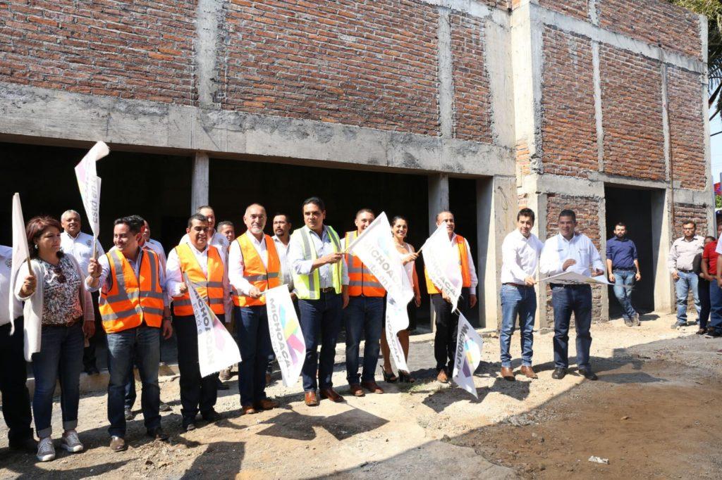 Invierten 10 mdp para concluir Centro de Salud de Tingüindín