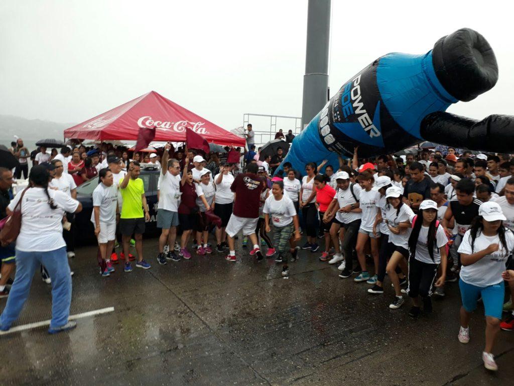 Se realiza en Acapulco y Zihuatanejo la 14 carrera contra las adicciones