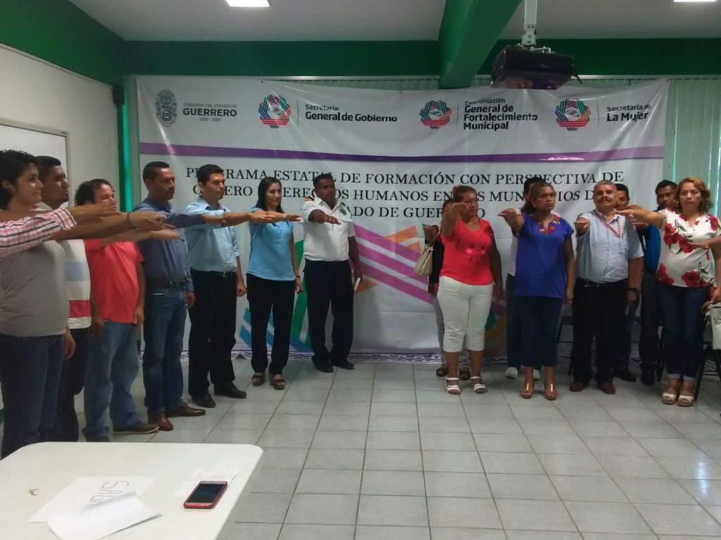 Instalan sistemas municipales para prevenir atender, erradicar la violencia contra las mujeres en 7 municipios