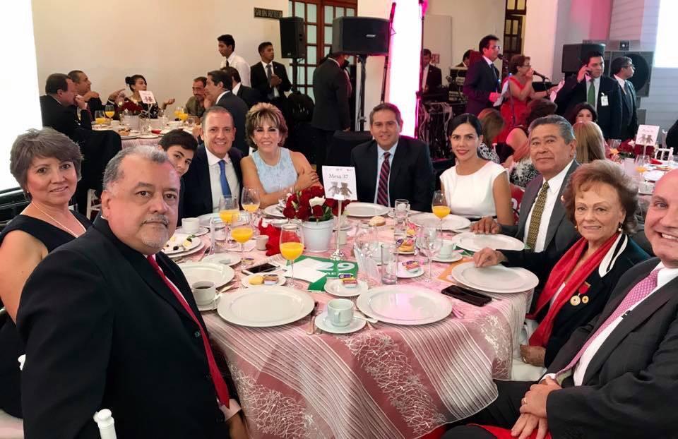 Presidenta de JSZ acompañó a Mercedes Calvo a evento de la Cruz Roja Mexicana.