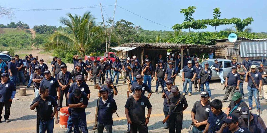 Por resurgimiento de guardia comunal de Ostula en alerta máxima habitantes de la Costa-Sierra