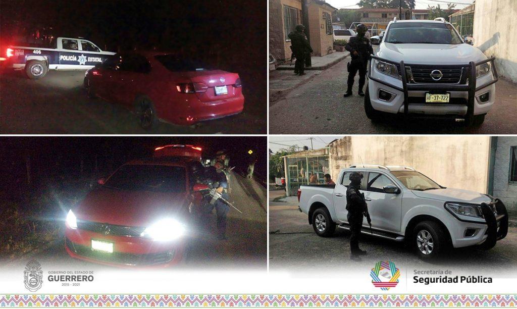 RECUPERAN POLICÍA ESTATAL Y EJÉRCITO MEXICANO EN ZIHUATANEJO DOS VEHÍCULOS CON REPORTE DE ROBO