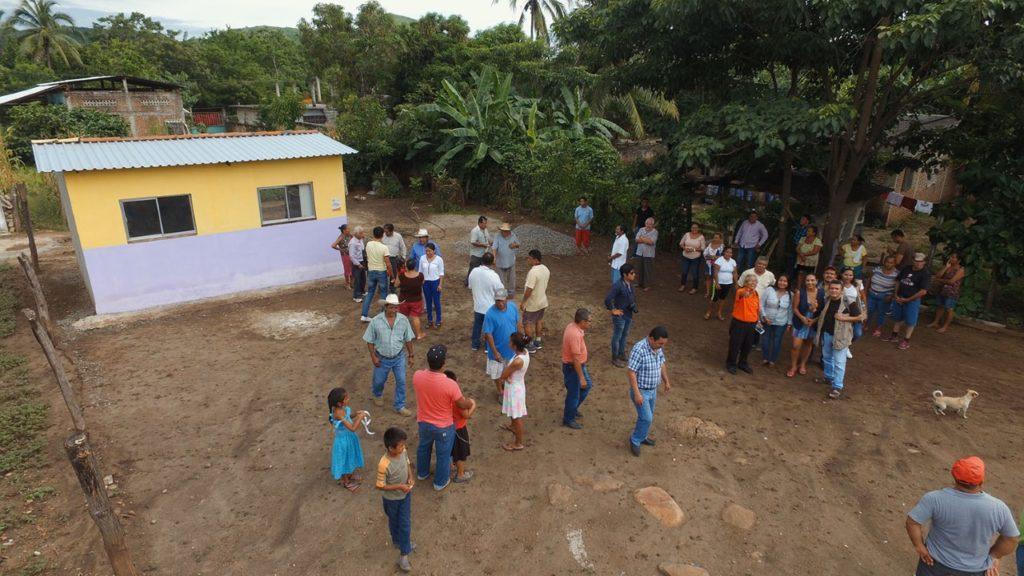 maricarmen cabrera ebntrega viviendas san miguelito