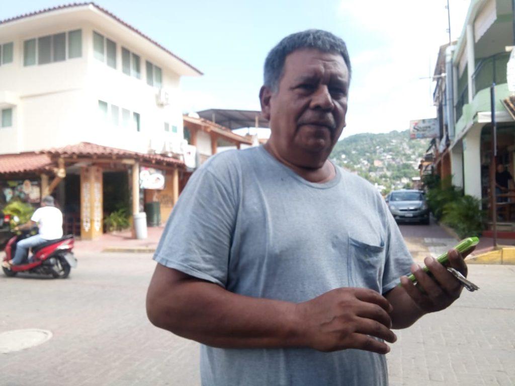 La solución  del ancestral conflicto entre Taxistas y Guías de Turistas solo queda en promesas, Líder transportista