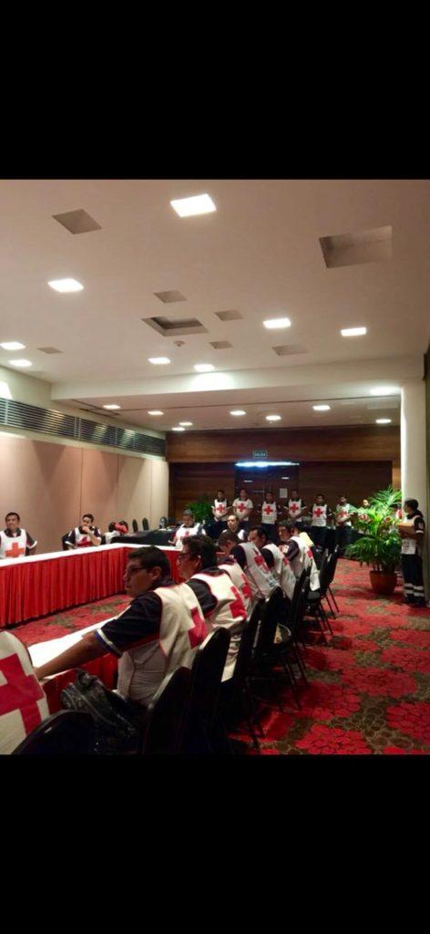 La Cruz Roja finalizó curso nacional en Ixtapa