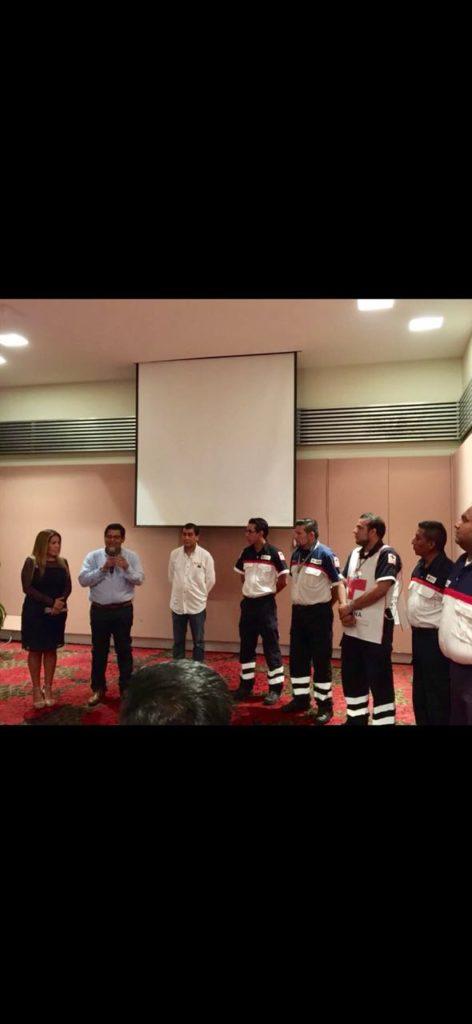 La Cruz Roja no brinda servicios médicos, aclara delegado