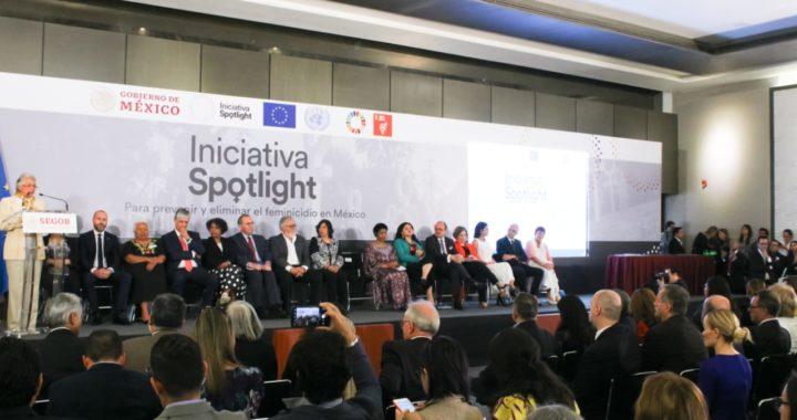 INICIATIVA SPOTLIGHT, DE ONU Y UNIÓN EUROPEA CON GOBIERNO FEDERAL LLEGA A GUERRERO Y BUSCA FRENAR FEMINICIDIOS