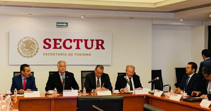 REUNIÓN DE LOS SECRETARIOS DE TURISMO, ERNESTO RODRÍGUEZ Y MIGUEL TORRUCO; BUSCAN CONSOLIDAR A IXTAPA ZIHUATANEJO EN EL TURISMO