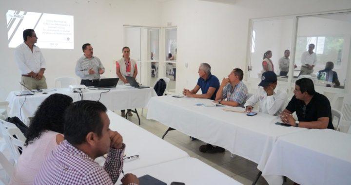 PRESENTAN A MUNICIPIO PROYECTO CENSO NACIONAL DE GOBIERNOS MUNICIPALES Y DEMARCACIONES TERRITORIALES 2019