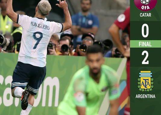 Argentina gana y avanza en la Copa América