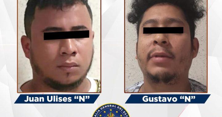 Fiscalía de Guerrero en coordinación con homologa de Oaxaca detienen a líderes del grupo delictivo «Los Virus» que operan en Acapulco.