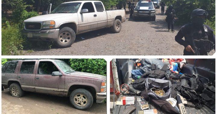 Tres civiles muertos, la detención de varios armados, el aseguramiento de un arsenal y vehículos saldo de enfrentamiento en La Unión
