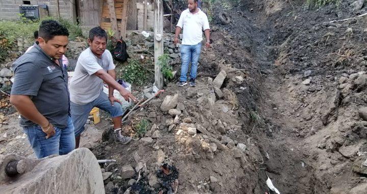 Decenas de familias beneficiadas en col. Las Brisas por rehabilitación de drenaje: CAPAZ