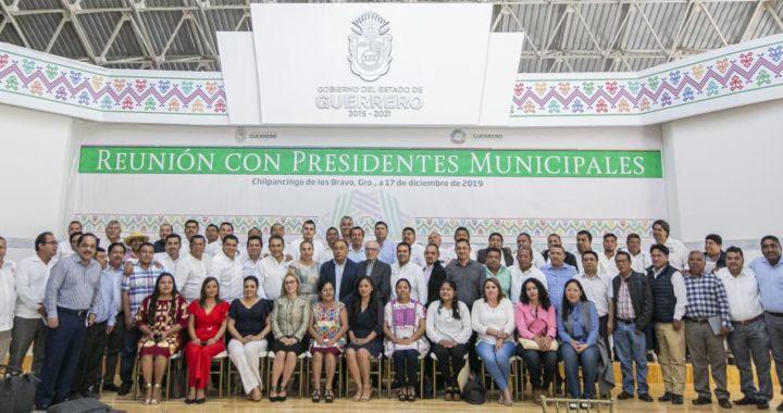 Presidente Jorge Sánchez Allec asiste a reunión con el gobernador Héctor Astudillo