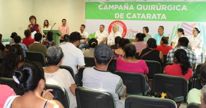 MÁS DE 400 CIRUGÍAS DE CATARATAS REALIZARÁ EL DIF GUERRERO