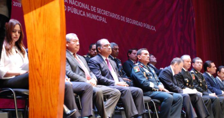 PARTICIPA HÉCTOR ASTUDILLO EN LA CONFERENCIA NACIONAL DE SECRETARIOS DE SEGURIDAD PÚBLICA