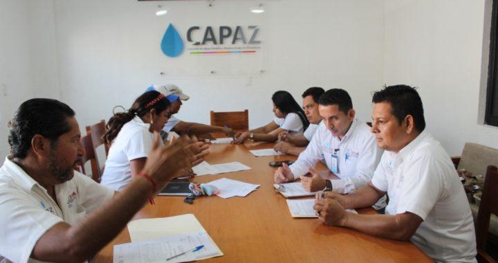 Capacitación a personal para mejora de los servicios de la CAPAZ: Luis Fernando Salas