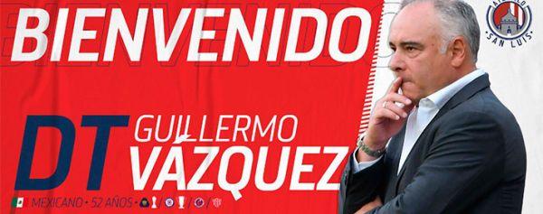 San Luis oficializa la llegada de Memo Vázquez