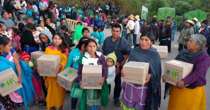 LLEGA APOYO A FAMILIARES DE LAS VÍCTIMAS EN CHILAPA DE ÁLVAREZ
