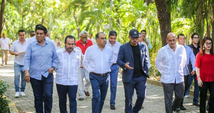 PRESENTAN PROYECTO DE REMODELACIÓN DEL PARQUE PAPAGAYO DE ACAPULCO