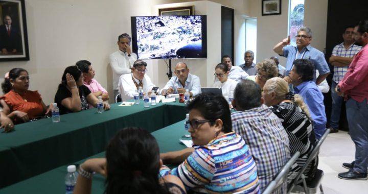 SOCIEDAD CIVIL Y AUTORIDADES SE REÚNEN PARA CONOCER EL PROYECTO DEL PARQUE PAPAGAYO