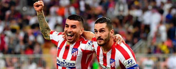 Atlético de Madrid jugará la final de la Supercopa ante Real Madrid