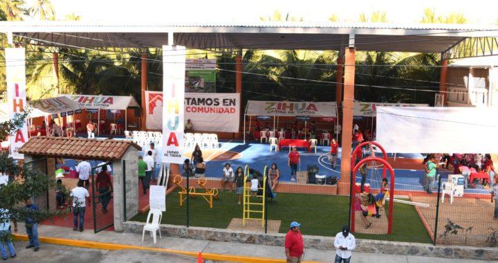 Gobierno de Jorge Sánchez Allec avanza en la dignificación de canchas deportivas