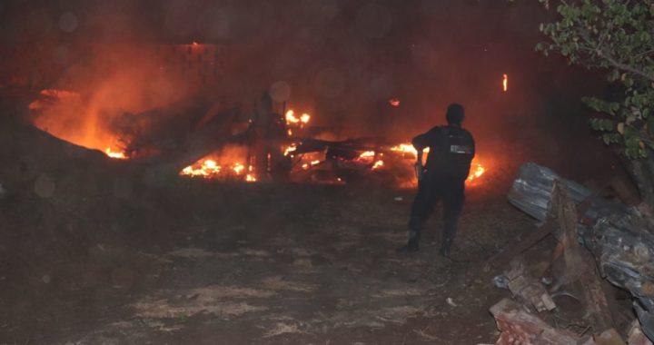 Daños materiales superior al millón de pesos, deja incendio en aserradero Las Tunas