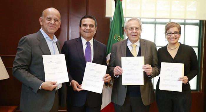Gobierno de Michoacán ya le dio el «sí» al Insabi; hoy se firmó el acuerdo
