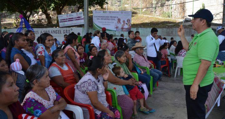 PERMANENTE LA ATENCIÓN Y ENTREGA DE APOYOS EN COMUNIDADES DE CHILAPA
